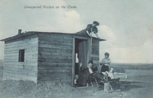 Unexpected Visitors on the Claim, 1900-10s