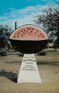 DILLEY, TEXAS , 1940-1960s; Watermelon Center