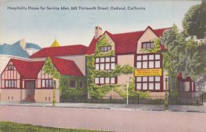 OAKLAND , California , PU-1945 ; Hospitality House for Service Men