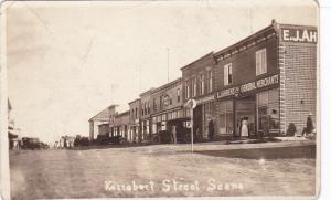 RP: Street (dirt) Scene , Storefronts , KERROBERT, Saskatchewan, Canada , 00-10s
