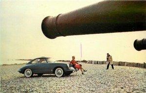 Automobile dealer Porsche 1950s Stamford Photo Studios POSTCARD 20-5050