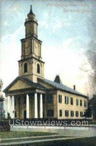 First Congregational Church - Springfield, Massachusetts MA