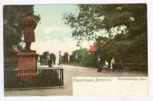 Frederiksbergs Park, Copenhagen, Denmark, 1900-1910s