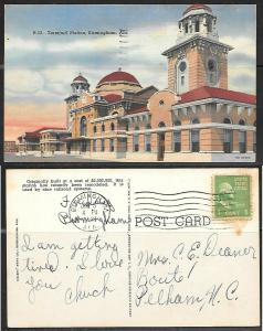 1948 Birmingham Ala., Terminal Station