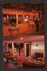 MA Old Blacksmith Shop Restaurant WHITMAN MASS Postcard