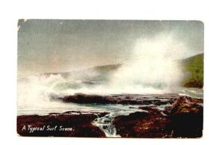 A Typical Surf Scene, Used in Halifax 1909,