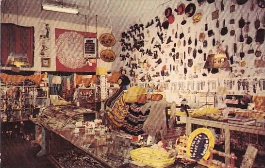 Nevada Virginia City Interior Totem Trading Post