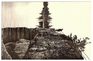 Devil's Oven, Thousand Islands NY Postcard 1909