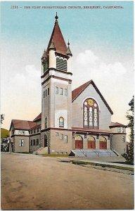 The First Presbyterian Church of Berkeley California