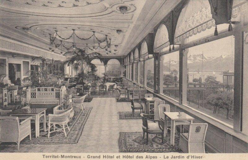 SWITZERLAND, 00-10s; Territet-Montreux-Grand Hotel et Hotel des Alps