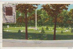 New Jersey Vineland Memorial Cirle