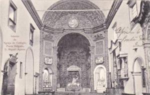 Interior, Egreja do Collegio,Ponta Delgada, S. Miguel-AZores , Portugal , 00-10s