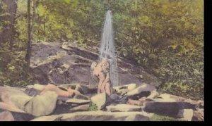 Pennsylvania Wood Loch Pike County Spirit Of Tea Handcolored Albertype