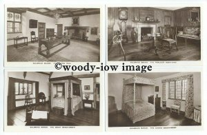 tb1620 - Sulgrave Manor, Each Card is a  Different Room - 6 postcards