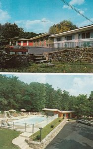 MOUNT POCONO, Pennsylvania, TOWN AND COUNTRY MOTOR INN, 50-60s