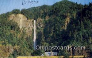 Multnomah Falls, Oregon Post Card ;      :             Multnomah Falls, OR Mu...