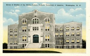 DC - Washington. Catholic Univ. of America. Oblate Fathers, House of Studies