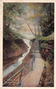 USA Sylvan Rapids, Watkins Glen N.Y. Creek Promenade