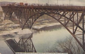 FORT SNELLING, Minnesota, 1910; New Bridge over Mississippi River