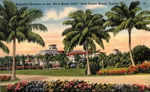 Florida Boca Raton Entrance To Boca Raton Club