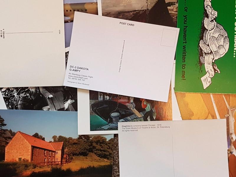 NEW Pack of 10 Random Postcards Ideal for Postcrossing,all different BEST SELLER