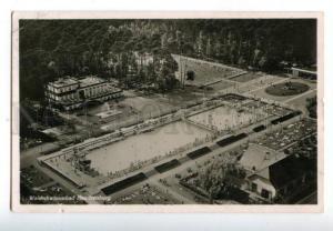 158566 Germany NEU-ISENBURG Waldschwimmbad swimming pool OLD