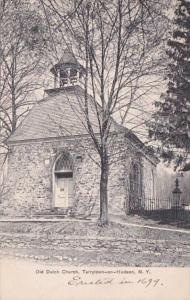 New York Tarrytown The Old Dutch Church Built 1697