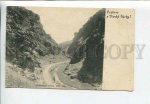 435923 Czech Republic Prague Greetings from Divoke Sarky Vintage postcard