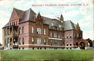 New Hampshire Concord Margaret Pillsbury Hospital 1909