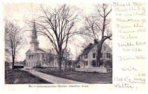 Connecticut  Cheshire , Congregational Church