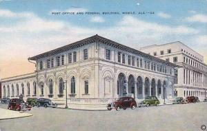 Post Office and Federal Building, Mobile, Alabama,  30-40s