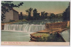 Old Mill Dam, Sayne PA
