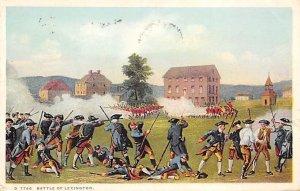 Battle of Lexington History 1930