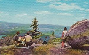 Lookout Point On Mount Sunapee New Hampshire
