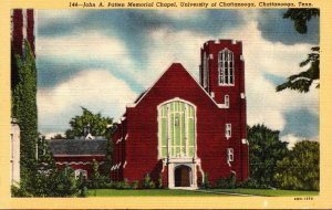 Tennessee Chattanooga John A Patten Memorial Chapel University Of Chattanooga...