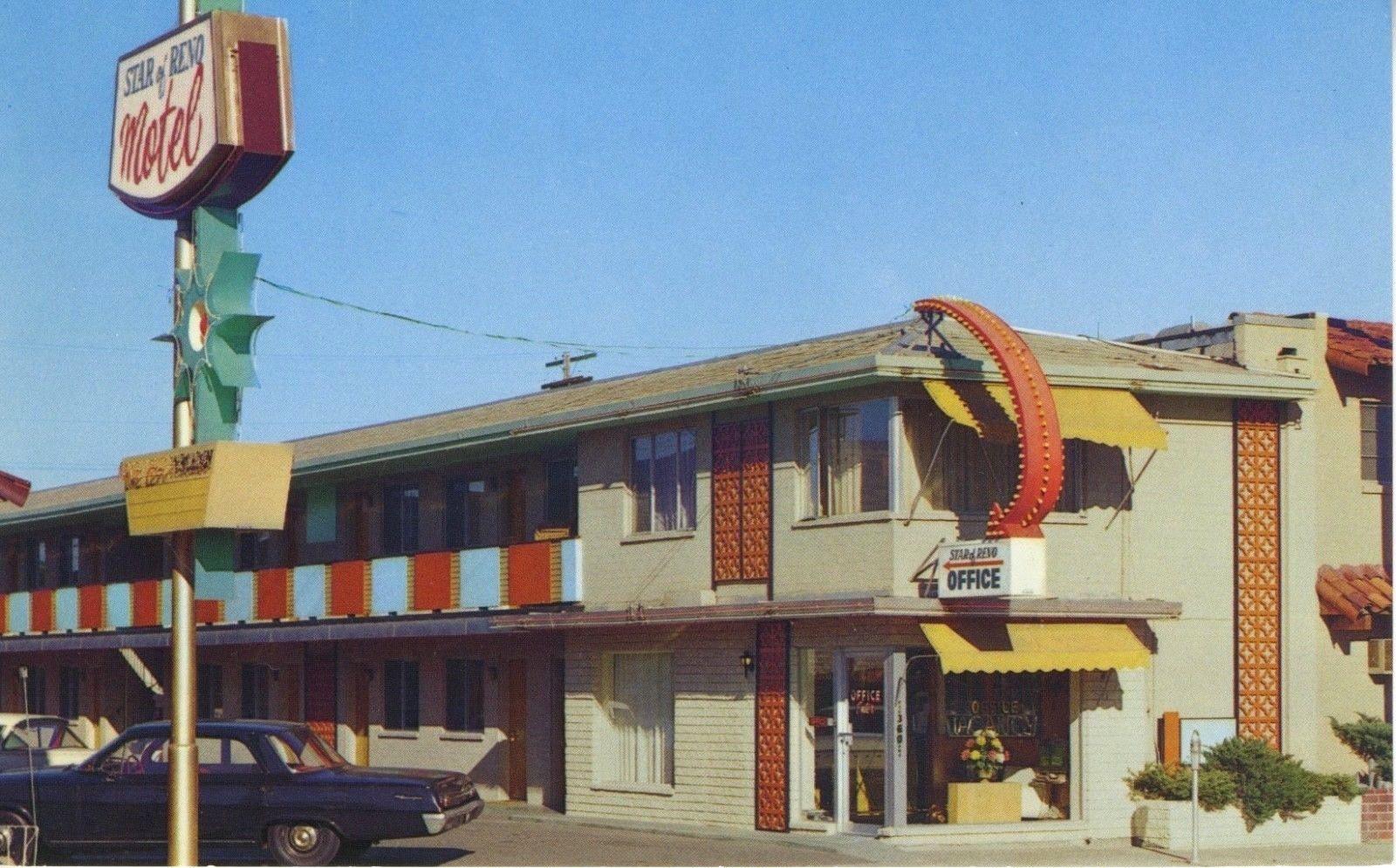 Star Of Reno Motel Reno Nv Nevada Motels North Arlington Vintage