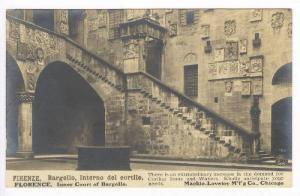 RP  FIRENZE, Italy, PU-1906   Bargello, Interno del cortile