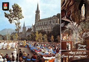 France Benediction des Malades, Lourdes The blessing of the Sick 1978