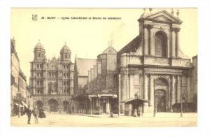 Eglise Saint-Michel et Bourse du Commerce, Dijon (Côte-d'Or), France, 1900-1...