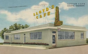 CORINTH , Mississippi , 1930-40s ; Llyod's Cafe