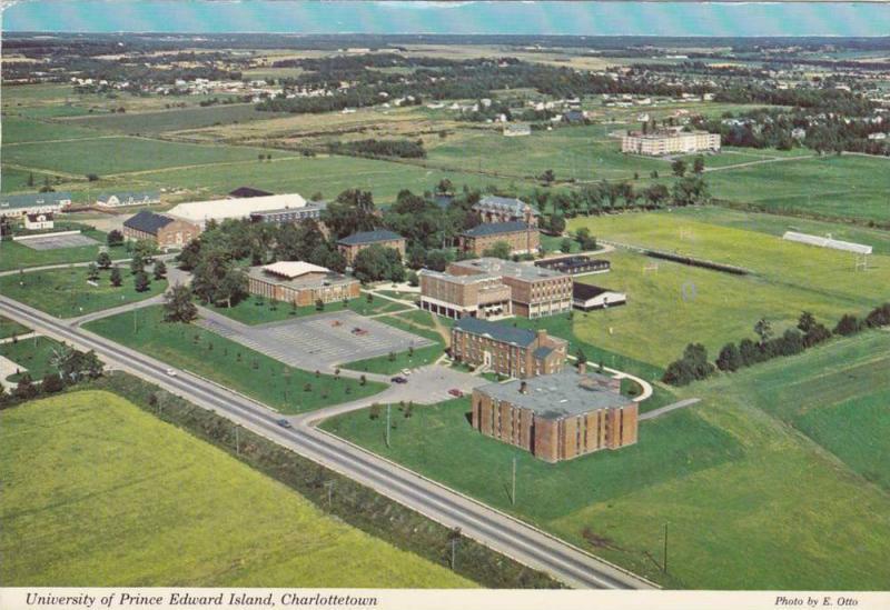University Of Prince Edward Island >> Aerial View University Of Prince Edward Island