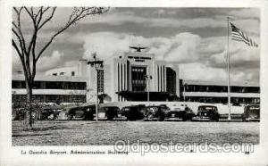 La Guardia Airport, Administration Building, Flushing Queens, NY USA Airport,...