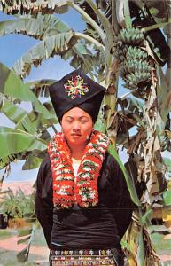 Thailand Yao Girl, Hill Tribes at Old Chiengmai Cultural Center  Hill Tribes ...
