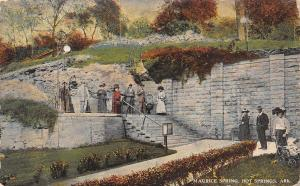 Hot Springs Arkansas~Maurice Spring~1910 Postcard