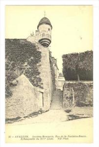 Anciens Remparts, Rue De La Fontaine-Neuve, Echauguette Du XVI Siecle, Avallo...