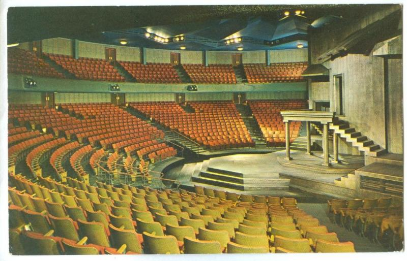 Canada, Auditorium and Stage of the Festival Theatre, Stratford, Ontario