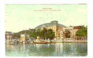 Amsterdam, Netherlands, PU-1909; BinnenAmstel met Kon: Circus Oscar Carre