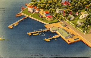 Rhode Island Bristol The LObster Pot 1942