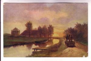 Painting Series, The Evening Auto Spin, 5374, Grey's Mills New Brunswick Spli...
