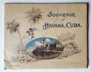 SOUVENIR OF HAVANA. CUBA. Circa BEGINNING OF 20th CENTURY.